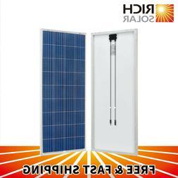 160 Watt 12V Solar Panel High Efficiency Poly Module RV Mari