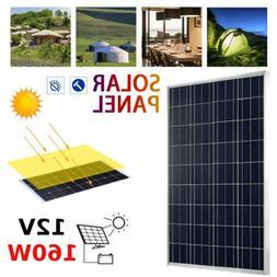 160 Watt12V 160W Solar Panel Off Grid Battery Charge RV Boat