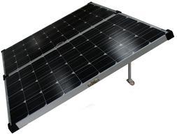 160 watt w mono foldable solar panel 12v 24v