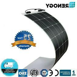 Renogy 160W 300W 640W Highly Flexible Solar Panel Caravan RV