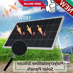 160W Solar Panel Module Poly 160 Watt 12V Off Grid Battery C