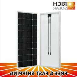 170 Watt 12 Volt Moncrystalline Solar Panel High Efficiency