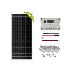 Newpowa 175W Watt Monocrystal Solar Panel 12V Battery RV Off
