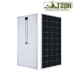 HQST 175W Watts 12V Mono Solar Panel 180 Watt Power RV Car B