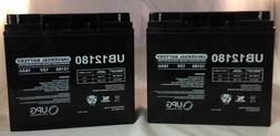 12V 18Ah UPS Battery Replaces Werker WKA12-18NB - 2 Pack