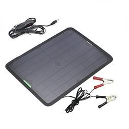 ALLPOWERS 18V 12V 10W Portable Solar Panel Battery Charger M