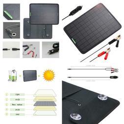 Allpowers 18V 12V 10W Portable Solar Panel, Solar Trickle Ch