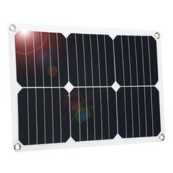 Suaoki 18V 18W Flexible Solar Panel Kit For Boat Home Car 12