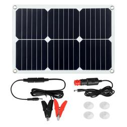 Suaoki 18V 18W Solar Panel Solar Car Battery Charger Waterpr