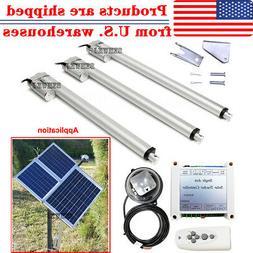 1KW Single Axis Solar Tracker Kits +Linear Actuator +Sun Tra