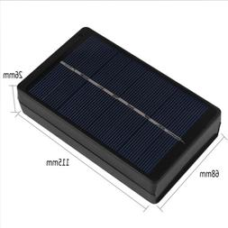 1W 4V Solar Panel Battery Charger Box For 2AA/AAA 1 Batterie