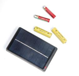 1W 4V Solar Panel Battery Charger Box For 2*AA/AAA 1.2V Batt