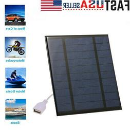 2 5w 5v solar charger with usb