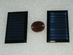 2 x solar panel 5v 30ma size