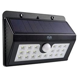 California Basics 20 LED Solar Powered Motion Sensor Wall Fl