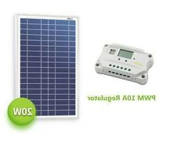 Newpowa 20 Watts 24 Volts Solar Panel RV marine 20W **For 24