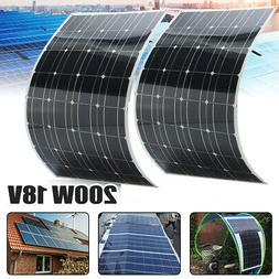 200/240W 18V Mono Flexible Solar Panel Battery Charger For 1
