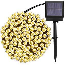 Solar String Lights Outdoor\Garden Lighting, 8 Mode , Water