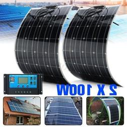 200 Watt 12 Volt Battery Charging Solar Panel Kit 12V 200W R