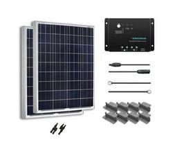 Renogy 200 Watt 12 Volt Solar Starter Kit 2 x 100 mono panel