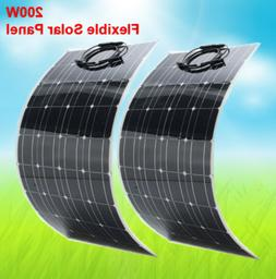 200 watt 300 watt high efficiency flexible