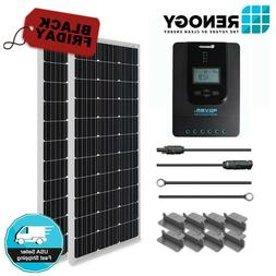 Renogy 200W Mono Solar Panel Off Grid Kit 20A MPPT Controlle