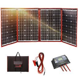 200 Watts 12 Volts Foldable Solar Panel Mono with Inverter C