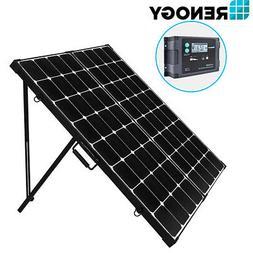 Renogy 200W Eclipse Mono Solar Panel Suitcase KIT W/ 20A Wat