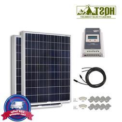 200W Solar Panel Kit 30A MPPT Controller 12V 24V Battery Cha