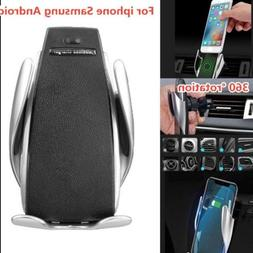 2019 Rotate Automatic Clamping Wireless Fast Car Charger Air