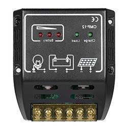 Anself 20A 12V/24V Solar Charge Controller for Solar Panel B