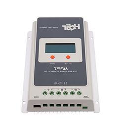 HQST 20A Positive Ground MPPT 12V/24V Battery Solar Charge C