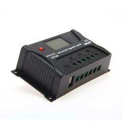 HQST 20A PWM Solar Charge Controller Auto 12V 24V Battery Re