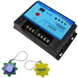 HQRP 20A Solar Charge Controller 12/24v with External Temper