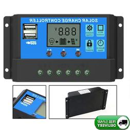 20A Solar Charger Controller Solar Panel Battery Intelligent