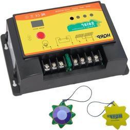 HQRP 20A Solar Panel Battery Charge Controller/Regulator 12V
