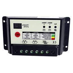 ECO-WORTHY 20A Solar Panel Dual Battery Charge Controller PW