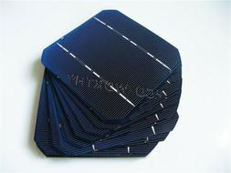 20pcs 125x125mm 5x5 Monocrystalline Solar Cells for DIY 50W