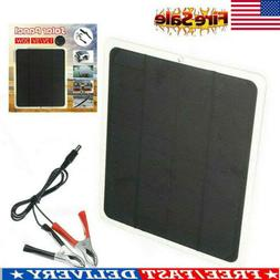 20W 12V Outdoor Car Boat Yacht Solar Panel Trickle Battery C