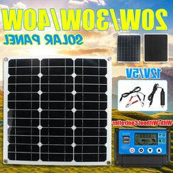20w 40w dual 12v 5v usb solar