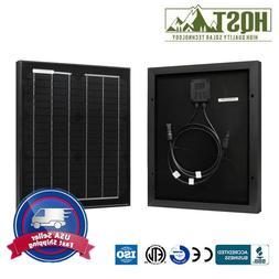HQST 20W Watt Mono Solar Panel 12V Volt Off Grid PV Power fo