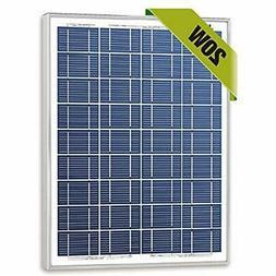 20w Watts 12v Poly Solar Panel Module Rv Marine Boat Off Gri