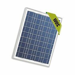 Newpowa 20w Watts 12v Poly Solar Panel Module Rv Marine Boat