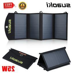 SUAOKI 21W Foldable Solar Panel Smartphone Tablet Battery Ch