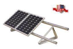"""24"""" Adjustable Angle Solar Panel Mount Mounting Rack Bracket"""