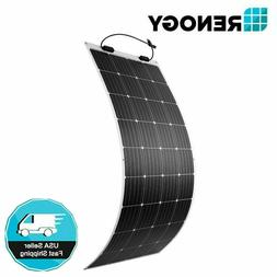 Renogy 248° Flexible 175W Watt 12 Volt Flexible Mono Solar