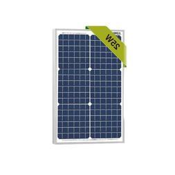 25 Watts Monocrystalline Newpowa 12v Mono Solar Panel Module