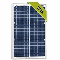 25 Watts Monocrystalline Newpowa 12v Solar Panel Module 20W