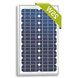 25 Watts Monocrystalline High Quality 12v Solar Panel Module