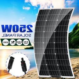 250W Flexible Solar Panel Battery Power Charger Marine Boat